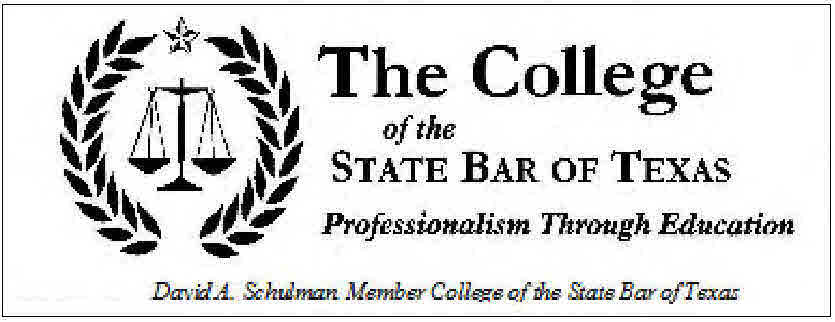 Member: College of the State Bar of Texas